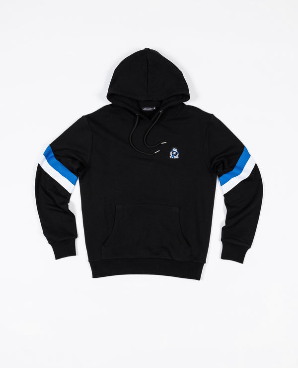 Benjart hrh striped pullover - Black/Blue