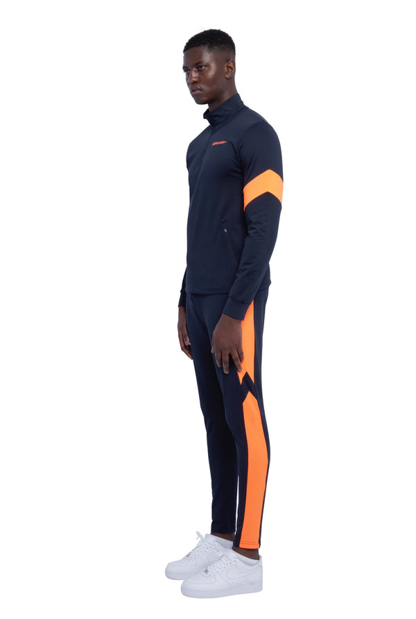 Benjart- Athleisure Navy/orange  - JOGGERS
