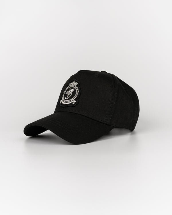 Benjart HRH Cap - Black Chrome m/logo