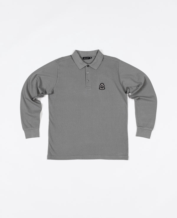 Benjart HRH - Long Sleeved Polo Shirt - Grey