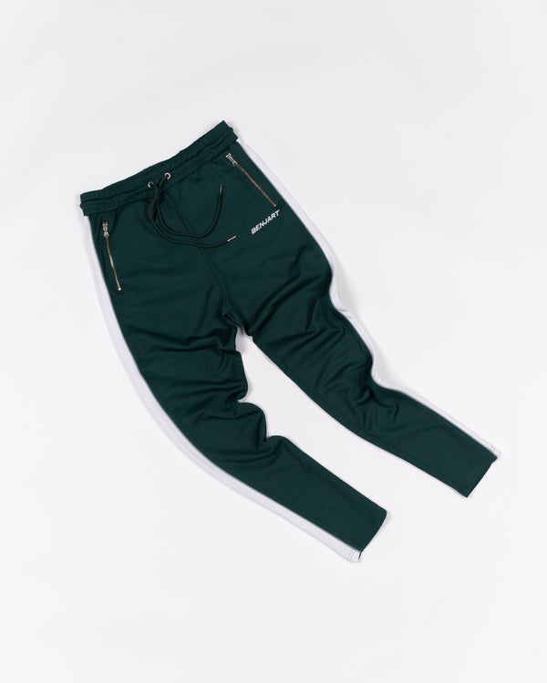 Benjart Lux Racer Joggers - Green/white