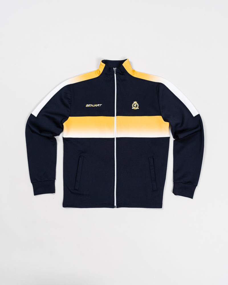 Midnight blue / yellow gradient Home Kit - Track top