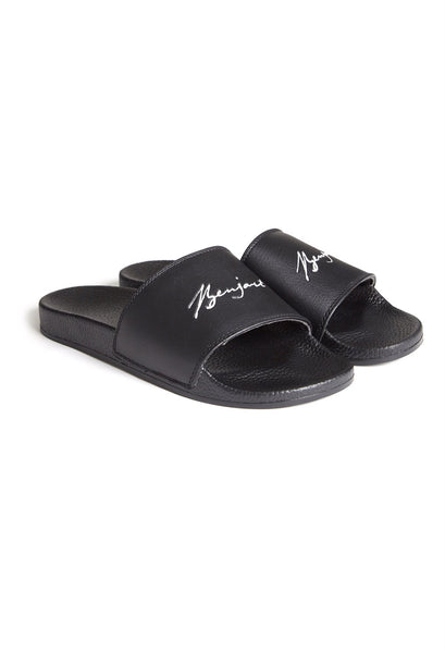 Benjart Autograph Slide Slipper black