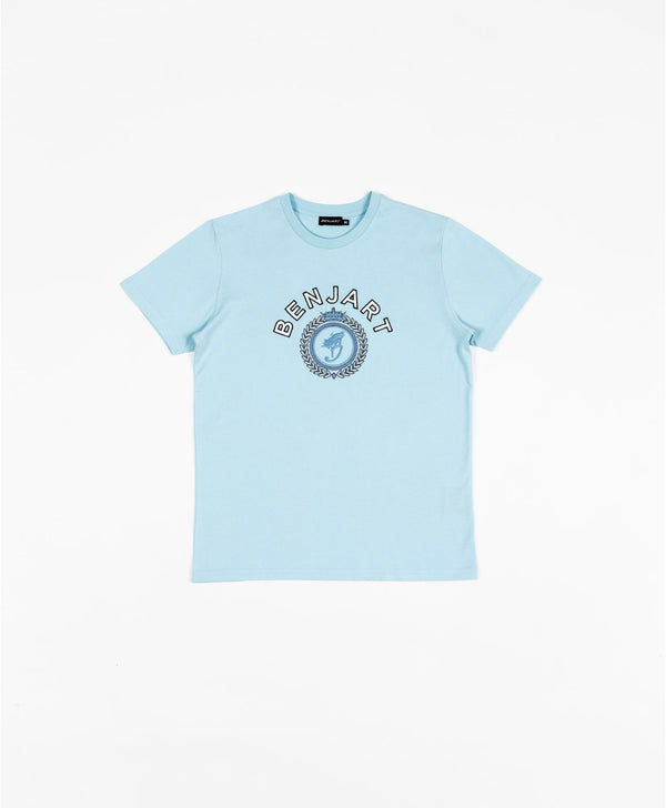 Benjart Tonal Regal Tshirt - Crystal blue