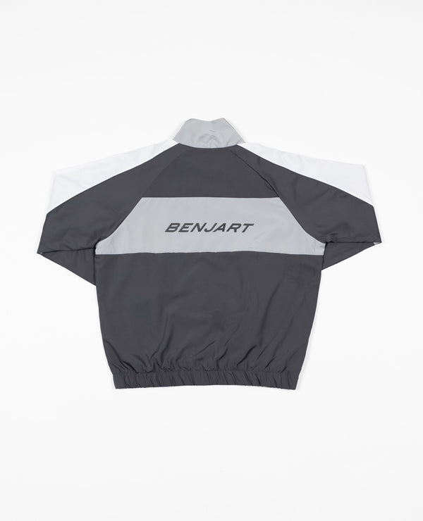 Benjart Championship - Reflective edition Contrast Tracktop - Anthracite grey