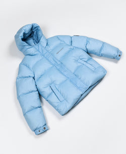 Benjart - Women's Short puffer Ice blue FW0059