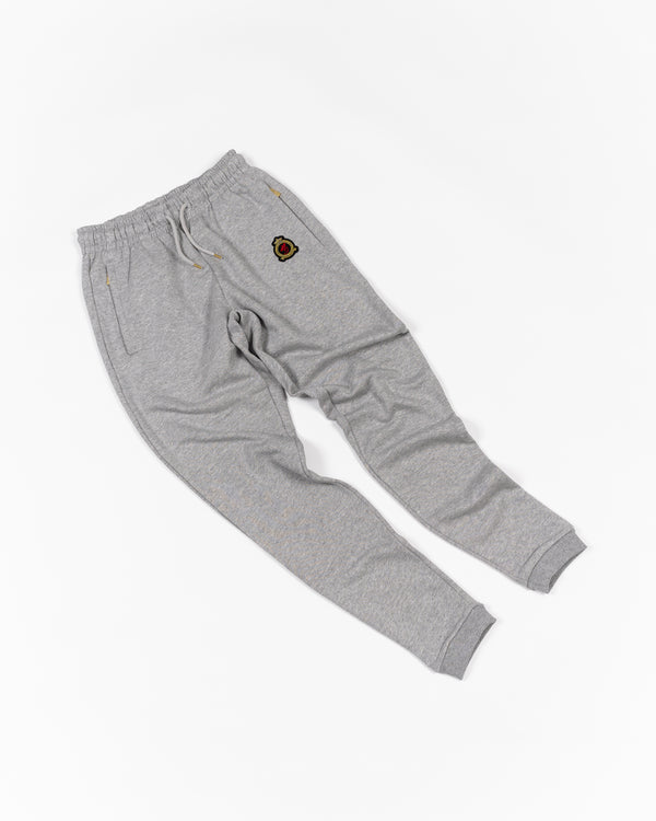 Hrh Benjart joggers Melange grey- ITEM SHIPS FROM 11th OCTOBER