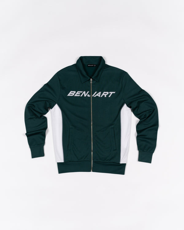 Benjart Lux Racer Track Top Green/White