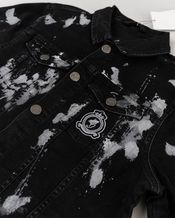 Benjart Denim Jacket - Acid black