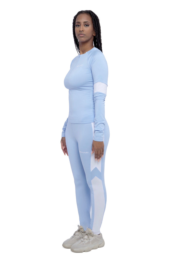 Benjart For Her - Athleisure joggers - Ice blue