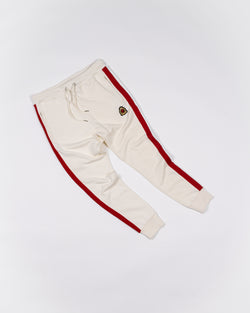 Benjart HRH striped joggers - Off white