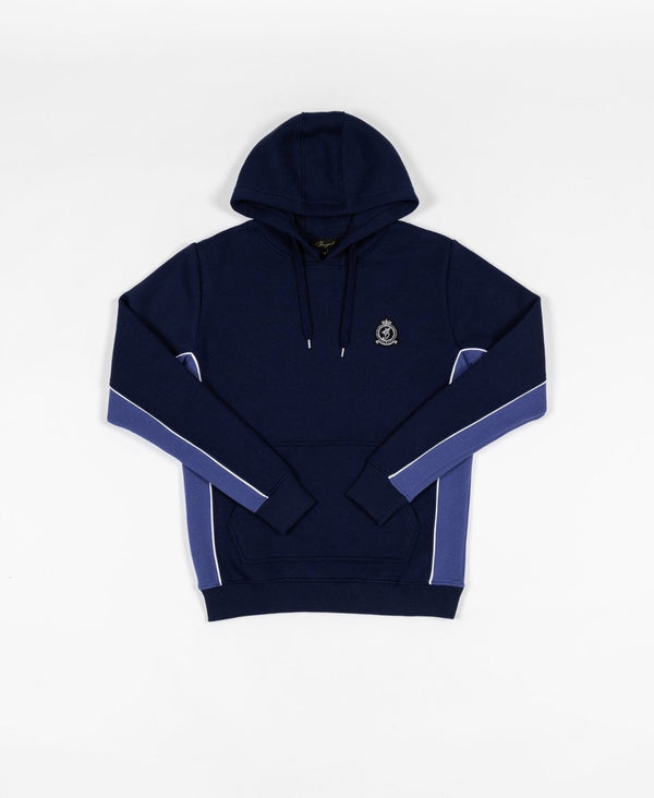 Benjart Navy contrast Tracktop  - White piping