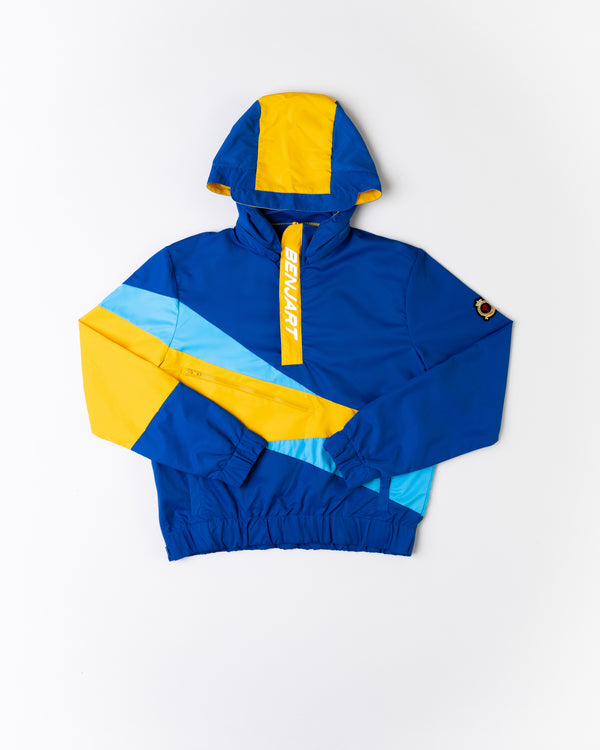 Benjart Geo Pullover  anorak - ultra Blue Please read below