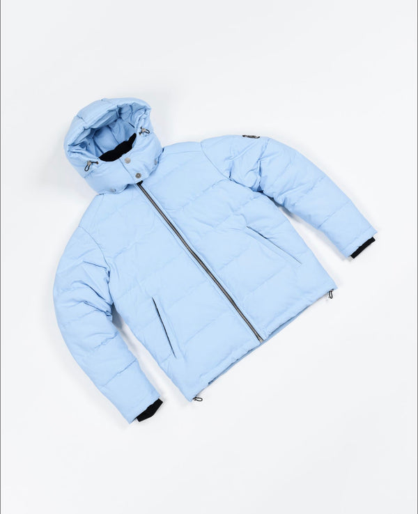 Benjart Ice blue Dutch Canal Puffer Jacket Men's