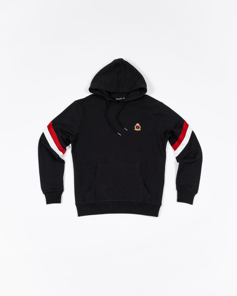 Benjart hrh striped pullover - Black