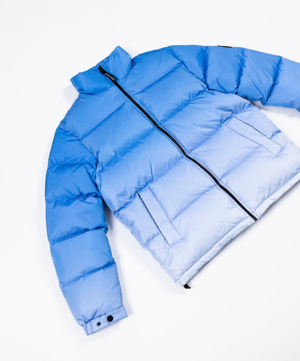 Benjart Gradient Puffer - ice blue (PREORDER) Item ships 10th of January