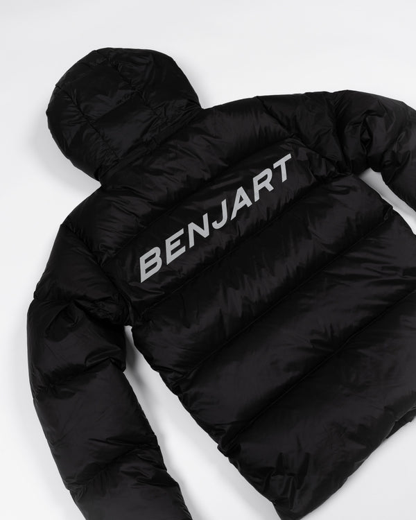 Benjart Racer - Phantom-  Reflective short puffer jacket