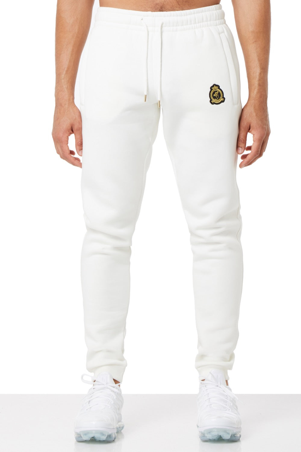 Benjart Gold Label Quarter Zip Joggers Off white
