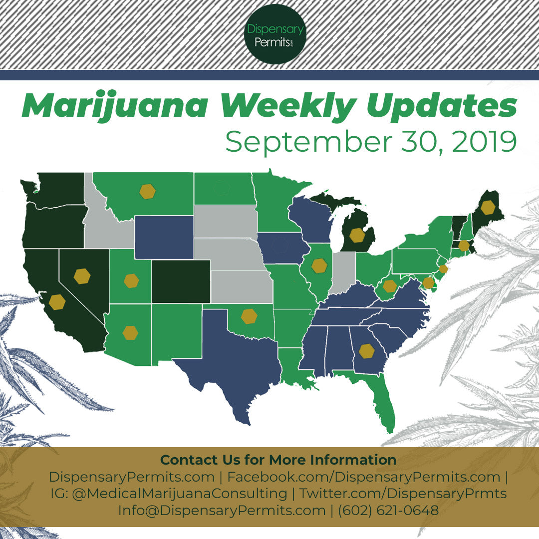 February 10 2020 Marijuana Weekly Updates