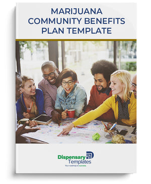 Marijuana Community Benefits Plan Template
