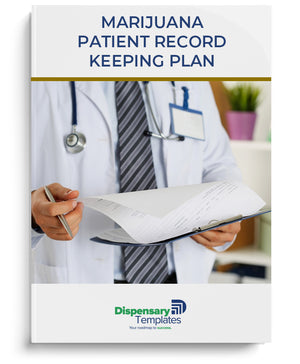 Dispensary Patient/Purchaser Record Keeping Plan Template
