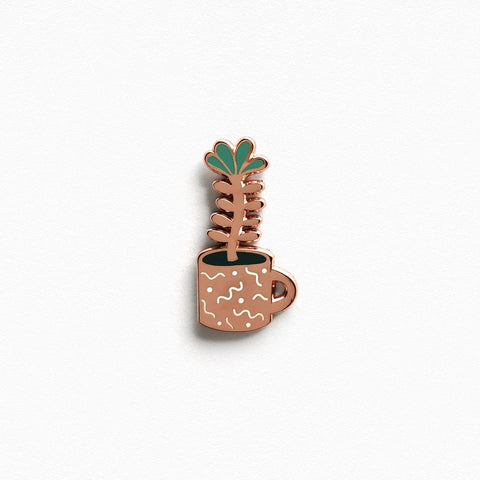 Flower Sprout Enamel Pin