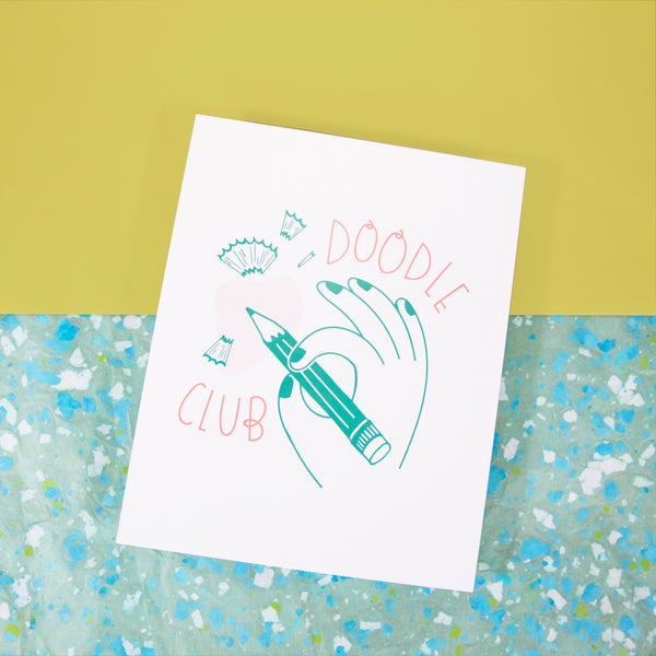 Doodle Club Art Print - Beetle Ink Co.