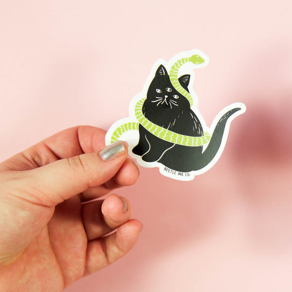 Catsss Vinyl Sticker