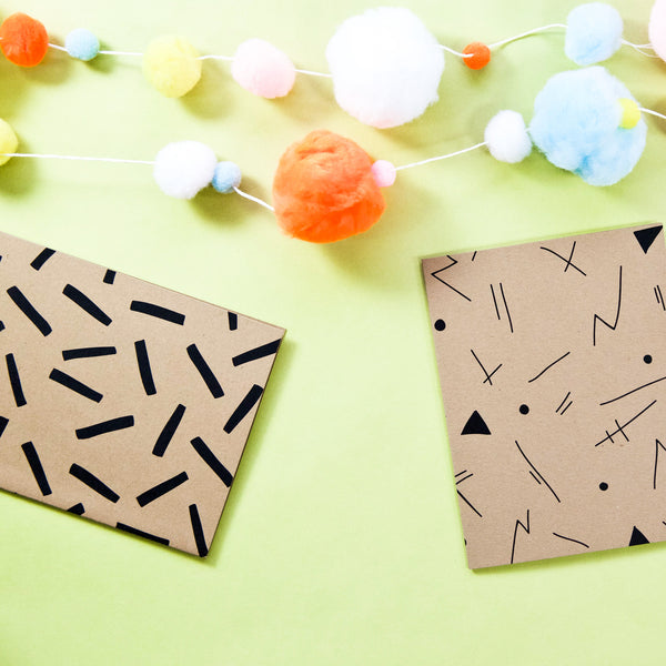 Confetti Notecard Set - Beetle Ink Co.