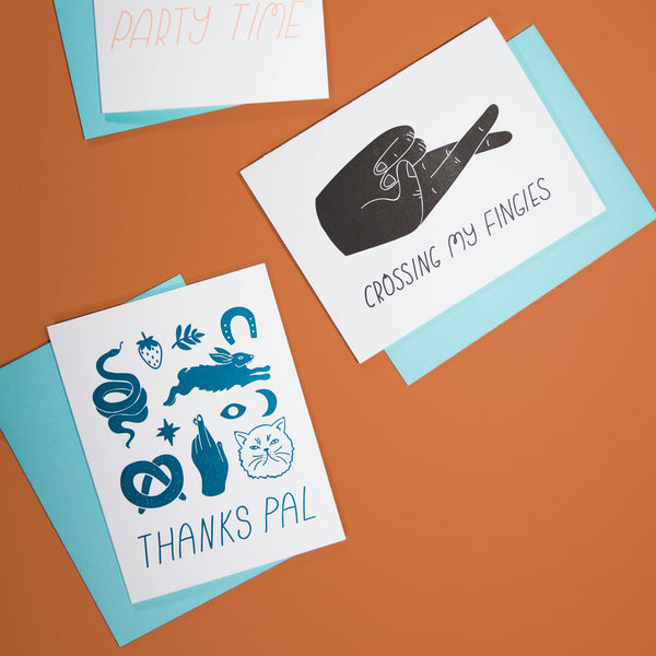 Thanks Pal Card - Beetle Ink Co.