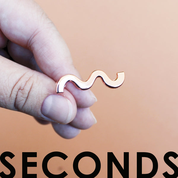 Squiggle Enamel Pin SECONDS SALE
