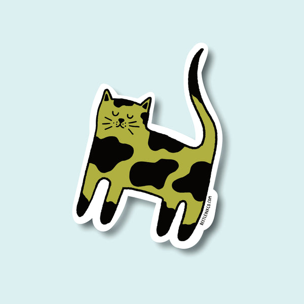 Cat Sticker Pack - Set of 3 - Beetle Ink Co.