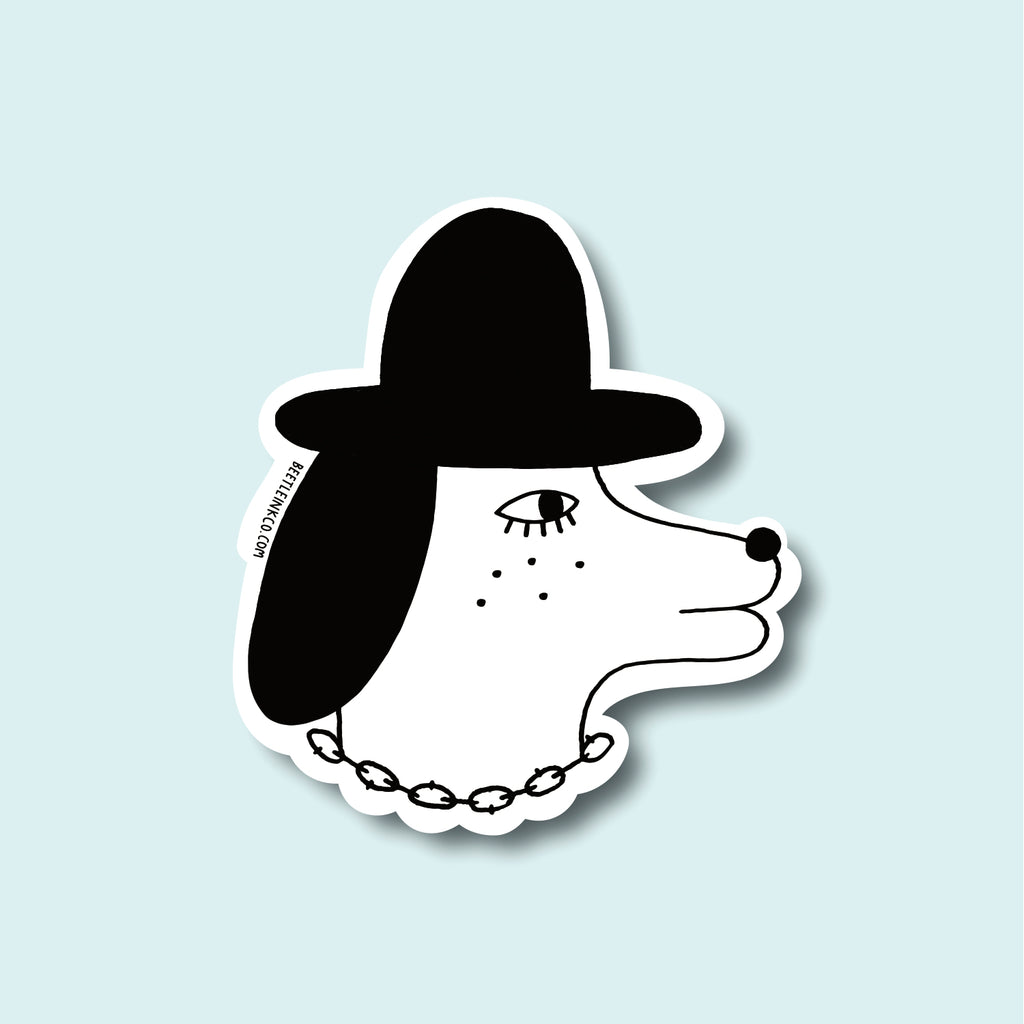 Tough Pup Sticker - Beetle Ink Co.