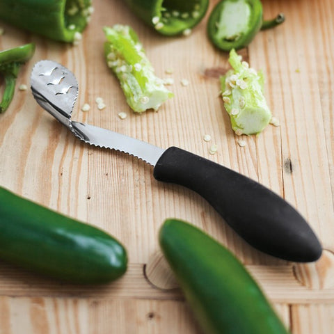 Stainless Pepper Corer