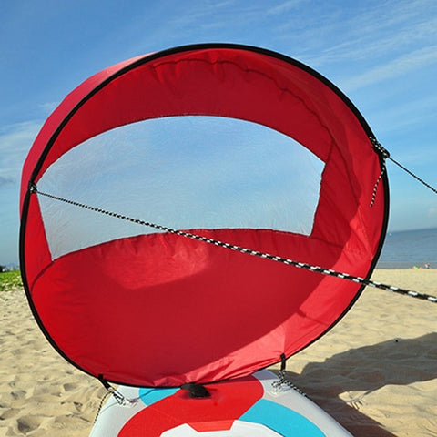 Image of Kayak Boat Wind Sail