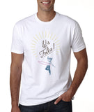 Let's Folka - Men's T - Apparel - Snow Alligator by Jason Blower