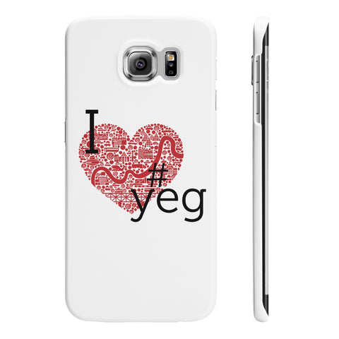 I Heart YEG - Samsung Galaxy S6 Slim - Phone Case - Snow Alligator by Jason Blower