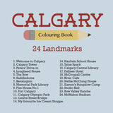 Calgary: Colouring Book
