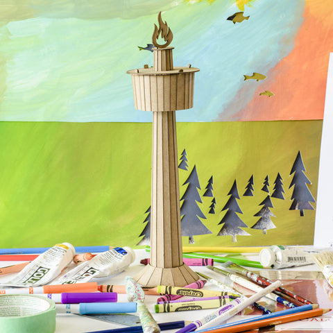 Calgary Tower - Model Kit