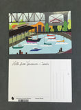 Vancouver Postcard Pack - Stationery - Snow Alligator by Jason Blower