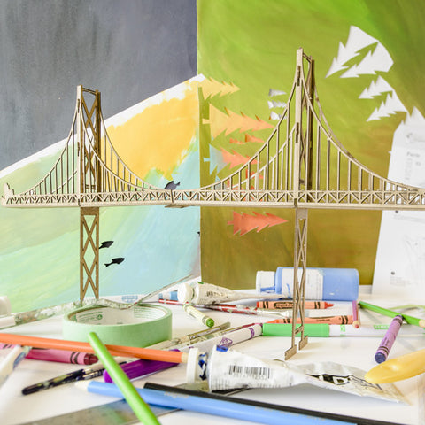 Lion's Gate Bridge - Model Kit