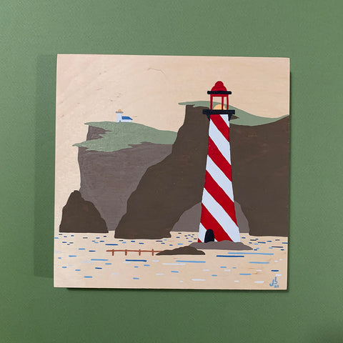 Mini Painting : Lookout Lighthouse