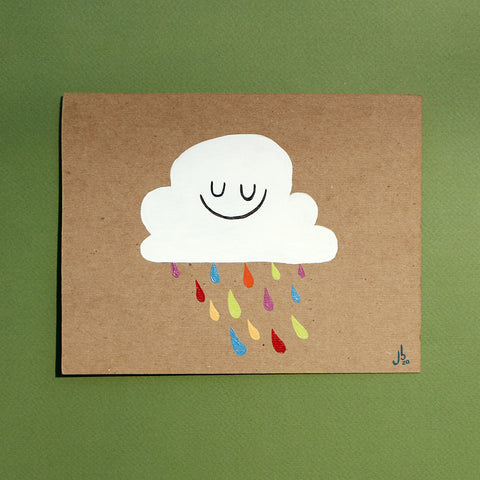 Mini Painting : Happy Cloud