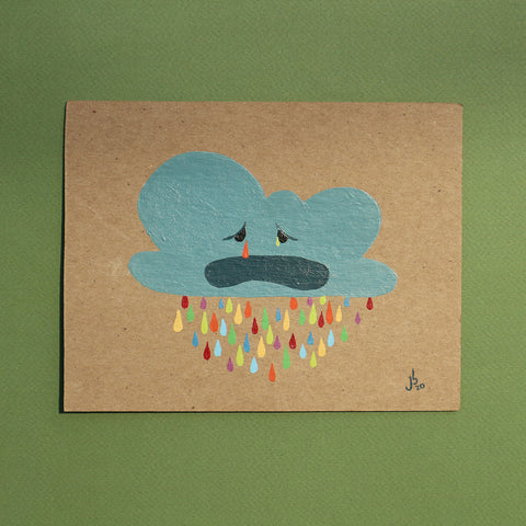 Mini Painting : Sad Cloud