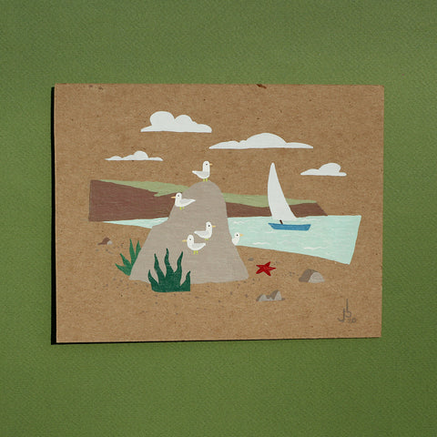 Mini Painting : Gull Coast