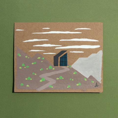Mini Painting : Modern Cabin