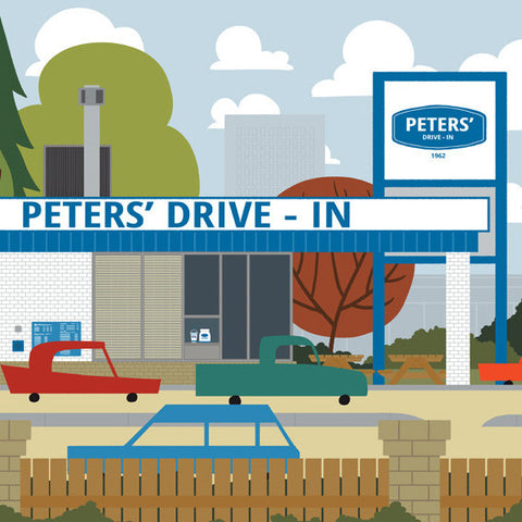 Calgary - Peters' Drive-in - Art Print - Snow Alligator by Jason Blower