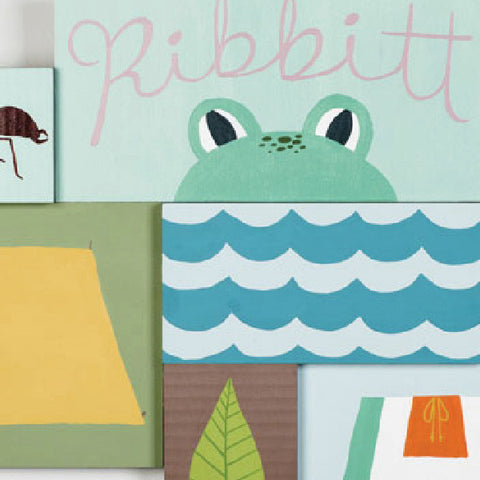 The Great Outdoors - Ribbitt - Paintings - Snow Alligator by Jason Blower