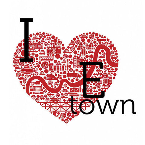 I Heart E-Town -  - Snow Alligator by Jason Blower