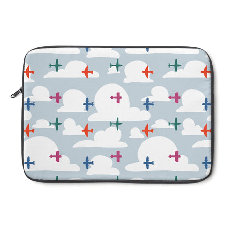 Planes - Laptop Sleeve - Laptop Sleeve - Snow Alligator by Jason Blower